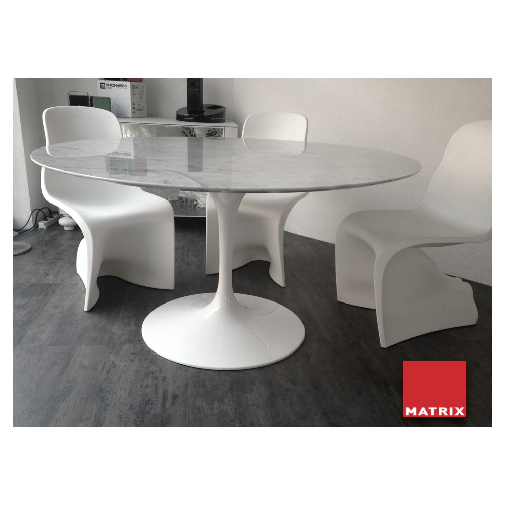 table ronde matrix international sa69 6mc design eero saarinen. Black Bedroom Furniture Sets. Home Design Ideas