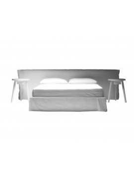 Bed double Gervasoni Ghost 81 E design Paola Navone
