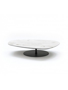 Coffee table - multi layered wood Moroso Phoenix design Patricia Urquiola