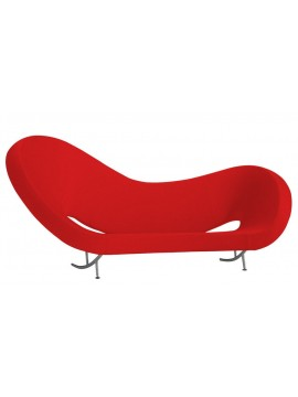 Sofa Moroso Victoria and Albert 290 cm - Left design Ron Arad