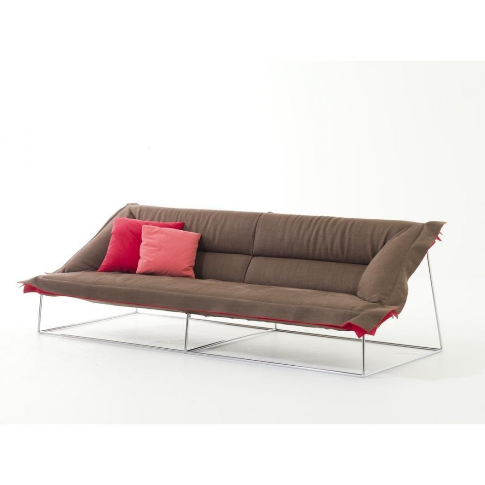 sofa moroso volant 225 cm design patricia urquiola progarr. Black Bedroom Furniture Sets. Home Design Ideas