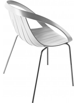 Chair Moroso Impossible Wood design Jonathan Levien and Nipa Doshi