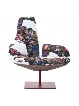 Armchair with cover removable Moroso Fjord design Patricia Urquiola