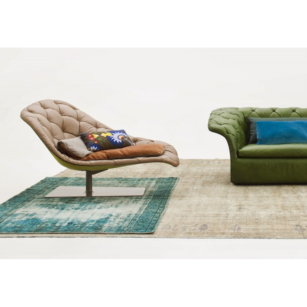 Chaise lounge moroso bohemian design patricia urquiola progarr for Chaise design eams
