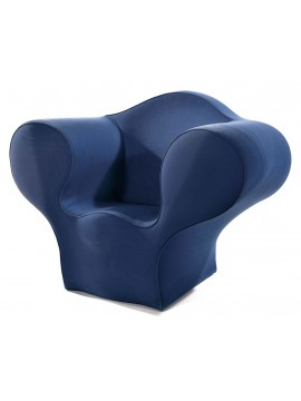 Upholstered armchair Moroso Soft Big Easy design Ron Arad