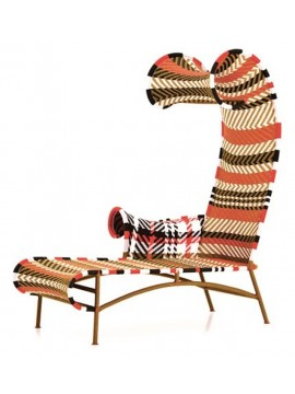 Chaise longue Moroso M'Afrique Shadowy design Tord Boontje