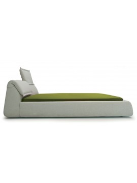 Bed double Moroso Highlands design Patricia Urquiola