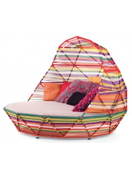 Letto da esterno Moroso Tropicalia Day Bed design Patricia Urquiola