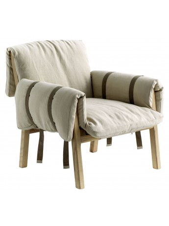Poltrona Diesel with Moroso Strapped design Diesel Creative Team