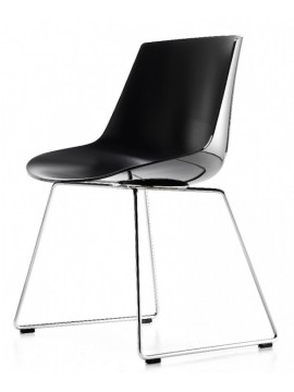 Chair Mdf Italia Flow chair - Slitta design Jean Marie Massaud