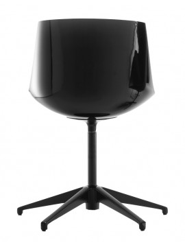 Chair Mdf Italia Flow chair - 5 razze fissa design Jean Marie Massaud