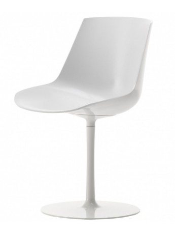 Chair Mdf Italia Flow chair - a stelo design Jean Marie Massaud