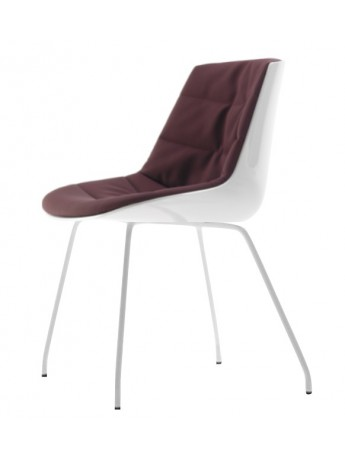 Chaise rembourré Mdf Italia Flow chair - 4 gambe design Jean Marie...