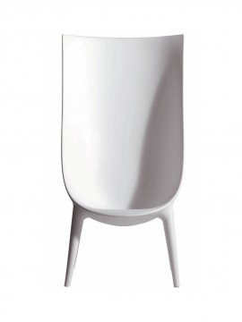 Armchair Driade Out-In - High backrest design Philippe Starckand Eugeni Quitllet