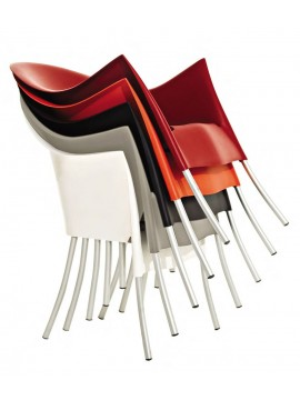 Fauteuil empilable / Chaise Driade Lord Yo design Philippe Starck