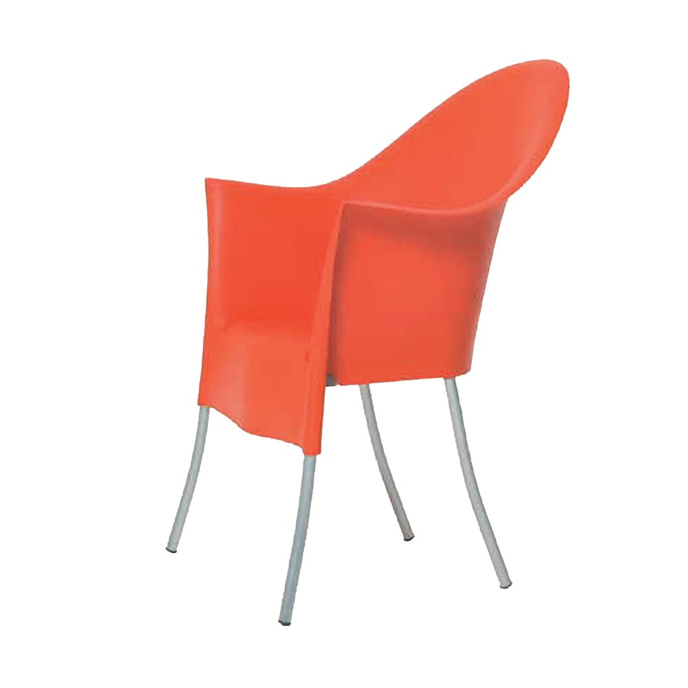 Armchair chair driade lord yo design philippe starck progarr for Philippe starck chair