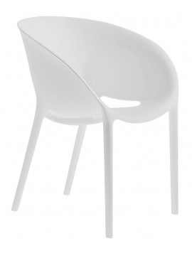 Chair Driade Soft Egg design Philippe Starck