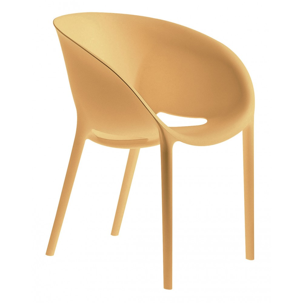 Chair driade soft egg design philippe starck progarr for Philippe starck chaise