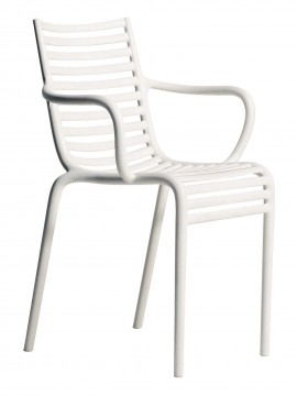Chair with armrest Driade PIP-e design Philippe Starck