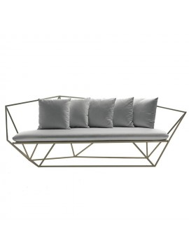 Three-seater sofa Driade Khaima design Patrick Norguet