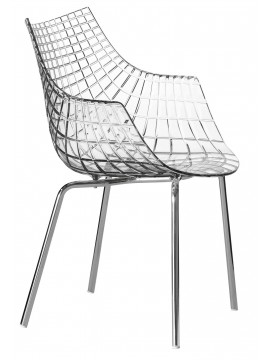 Armchair Driade Meridiana 4 legs design Christophe Pillet
