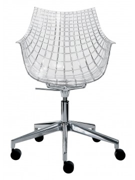 Desk chair Driade Meridiana design Christophe Pillet