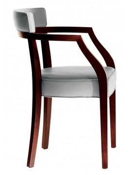 Chair with armrest Driade Neoz design Philippe Starck
