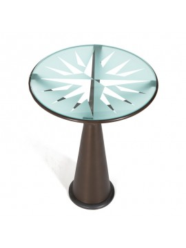 Table Driade Astrolabio design Oscar Tusquets
