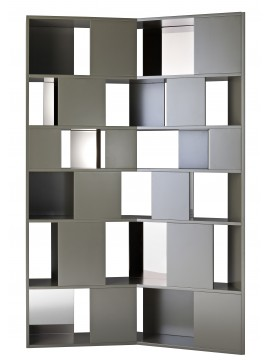 Bookshelves Driade Mosaique design Francesco Rota