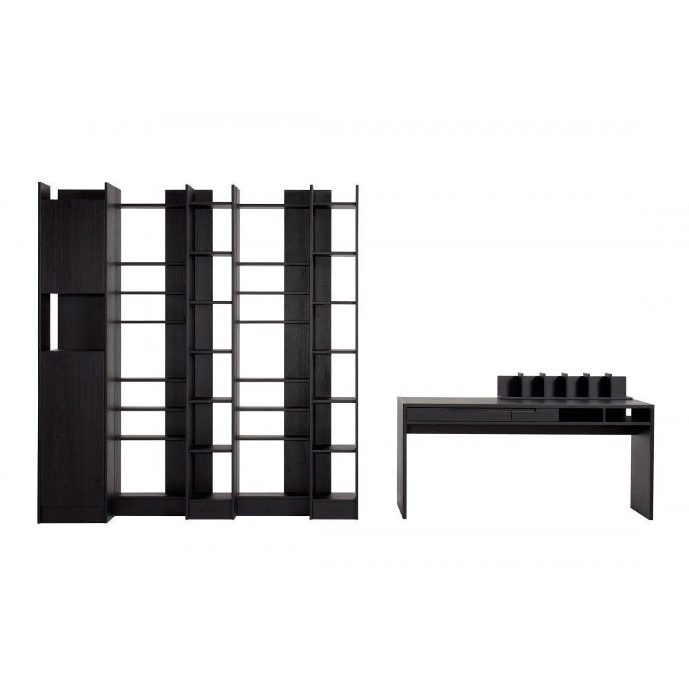 biblioth que meuble driade connor design antonia astori. Black Bedroom Furniture Sets. Home Design Ideas