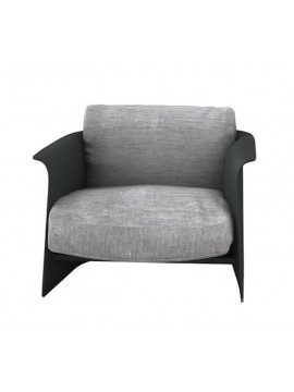 Armchair Driade Garconne design Carlo Colombo