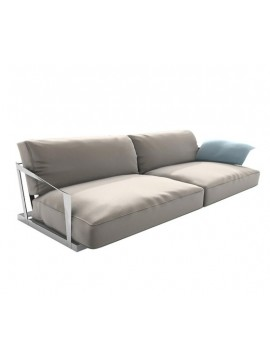 Sofa Driade Lisiere - 2 seats design Carlo Colombo