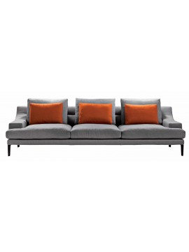 Sofa Driade Megara four places design Gordon Guillaumier