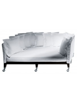 Sofa with deep seat Driade Neoz design Philippe Starck
