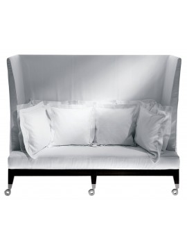 Sofa with high back Driade Neoz design Philippe Starck