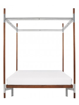 Canopy bed without head Driade Edward IV design Antonia Astori