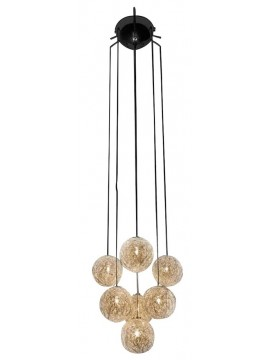 Lampe suspension Catellani & Smith Sweet Light Grappolo 7 lumières