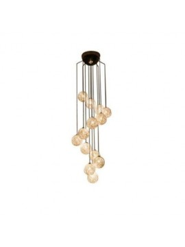 Lampe suspension Catellani & Smith Sweet Light Spirale 7 lumières