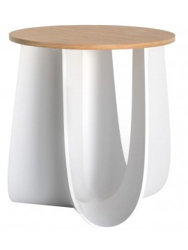 Stool / coffee table Mdf Italia Sag design Nendo / Oki Sato