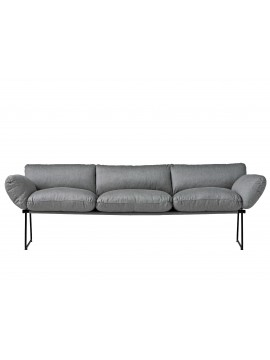 Sofa 3 seaters Driade Elisa Indoor design Enzo Mari