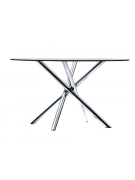 Oval table Tisettanta Halifax Nodo Rotondo design Carlo Bartoli