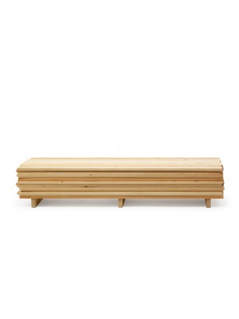 Mobile contenitore Mogg Ordinaryday Low (in a wooden factory) design Raphael Charles