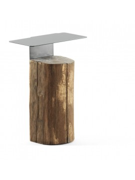 Tavolino basso Mogg Beam side table design Damien Gernay