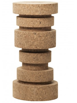 Stool of cork Mogg King design Claudio Bitetti