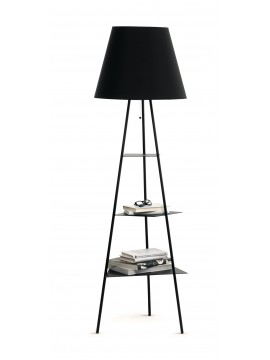 Lamp floor / bookshelves Mogg Tri.Be.Ca design Marzia and Leonardo Dainelli