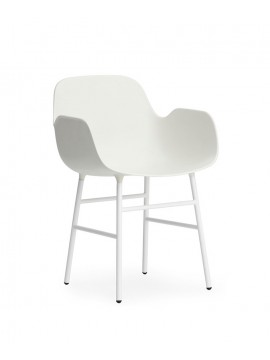 Chair with armrest Normann Copenhagen Form Armchair design Simon Legald