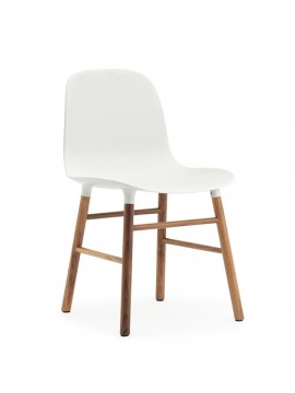 Chair Normann Copenhagen Form Chair - leg walnut design Simon Legald