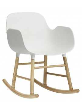 Rocking armchair Normann Copenhagen Form Rocking Armchair design Simon Legald