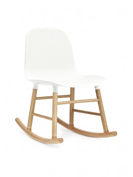 Rocking chair Normann Copenhagen Form Rocking Chair design Simon Legald