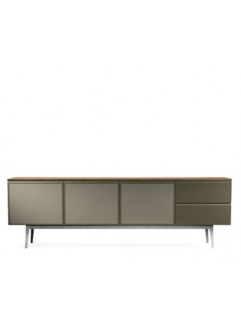 Storage unit Diesel with Moroso Voltaire 240 lacquered / oak top vers.A design Diesel Creative Team
